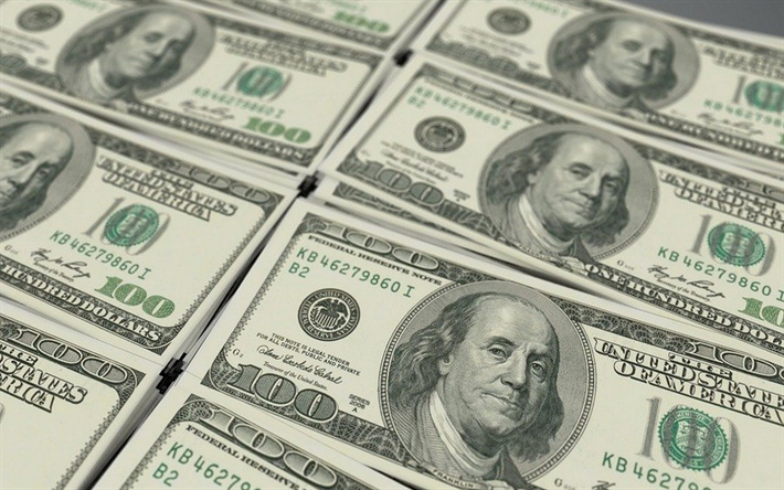 Download Wallpapers Background With 100 Dollar Bills Money