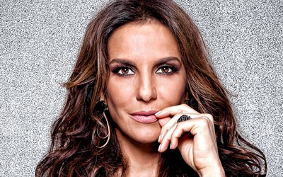 Ivete Sangalo, portrait, brazilian singer, beautiful female eyes, makeup, brazilian star, brazilian popular singers