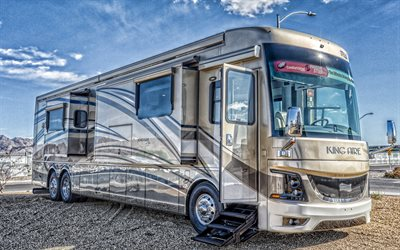 Newmark King Aire 4553, 2019, luxury motorhome, exterior, front view, american motorhomes, Newmar