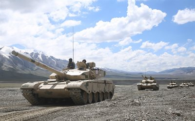 Type 99 MBT, ZTZ-99, Chinese main battle tank, China, mountains, Chinese tanks