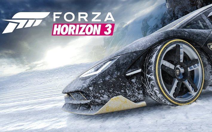 Download Wallpapers Forza Horizon 3 2016 Lamborghini Centenario