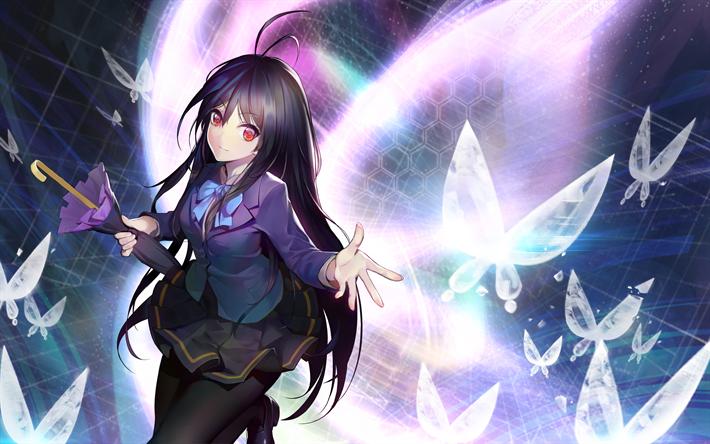 Kuroyukihime 4k Princess Snow Black Lotus Accel World