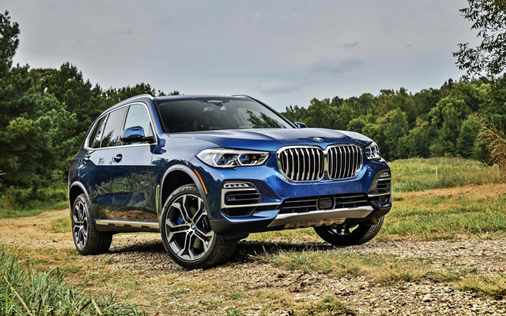 Download Wallpapers Bmw X5 4k Offroad 2018 Cars Xdrive40i G05