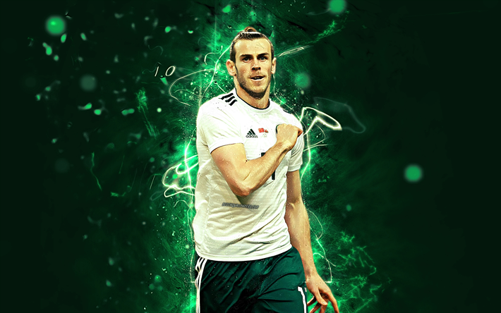 free shipping 9a2dc 172d8 Download wallpapers Gareth Bale, joy, Wales National Team ...