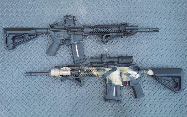 assault rifles, Adams Arms AA 308, FSG-1, Front Support Grip, FSG-2, Rubberized Front