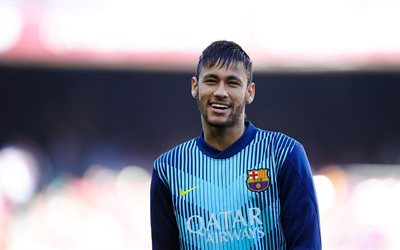 Neymar, le football, le FC Barcelone, le stade de football, la formation