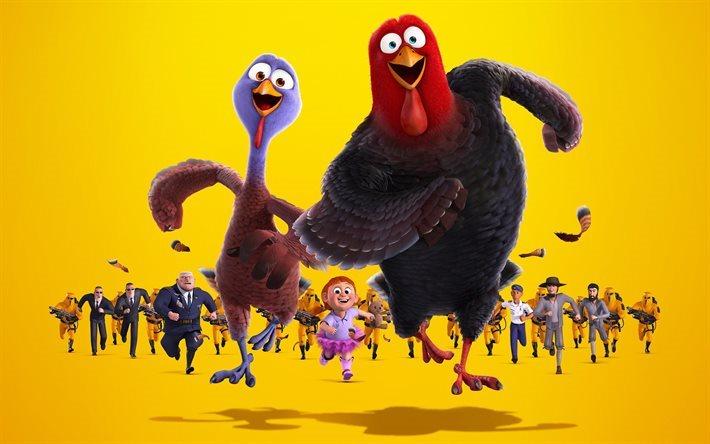 Scarica sfondi free birds cartone animato su uccelli personaggi
