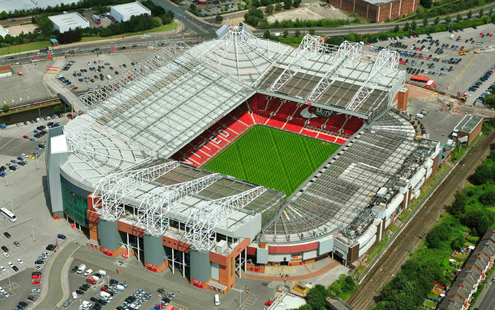 Download Wallpapers Old Trafford Theatre Of Dreams View