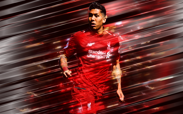 Download wallpapers Roberto Firmino, Liverpool FC ...