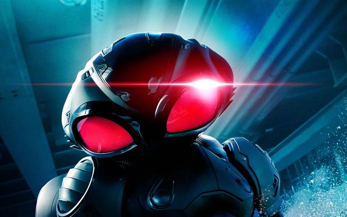 Download Wallpapers Black Manta Aquaman 2018 Movie Yahya Abdul