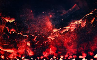 red fire background, 4k, fire textures, fire flames, smoldering coal, fire, background with fire