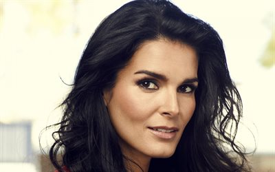 Angie Harmon, american actress, american fashion model, portrait, photoshoot, makeup, brunettes