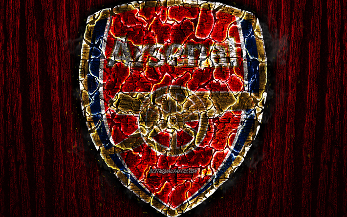 Download wallpapers Arsenal FC, scorched logo, Premier ...