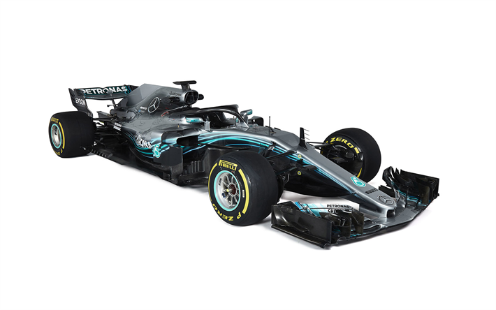 Download Wallpapers Mercedes Amg F1 W09 2018 Formula 1 New