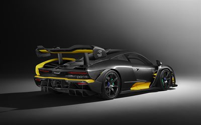 Download Wallpapers Mclaren Senna Carbon Theme Mso 2019