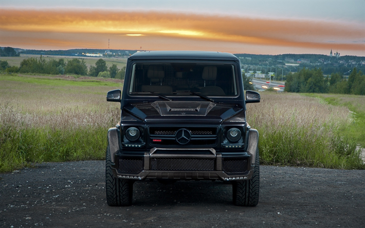 Download Wallpapers Mercedes Benz G500 Tuning Luxury Cars