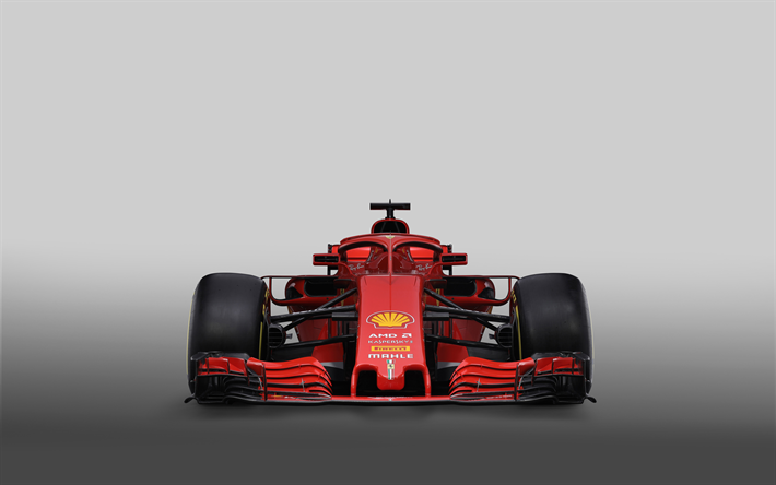 Scarica Sfondi Ferrari Sf71h 2018 Auto Formula 1 Ferrari F1 F1