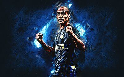 Joao Mario, Internazionale FC, midfielder, blue stone, portrait, famous footballers, football, Portuguese footballers, grunge, Inter Milan FC, Serie A, Italy