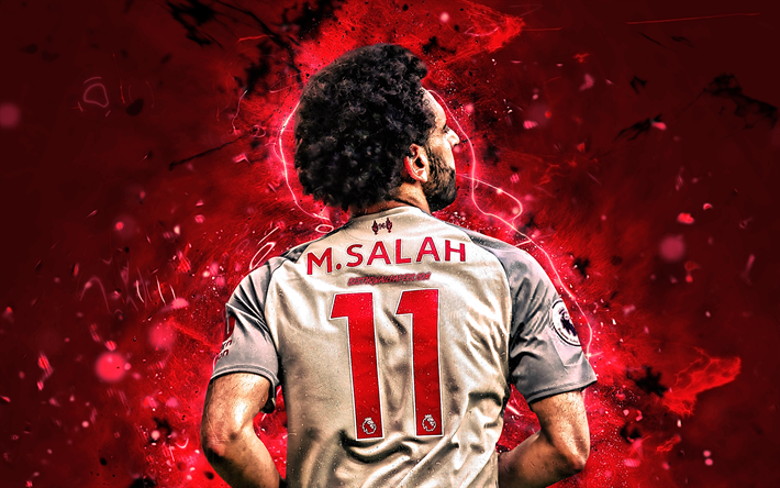 Télécharger Fonds D'écran Mohamed Salah, Vue De Dos, CFT