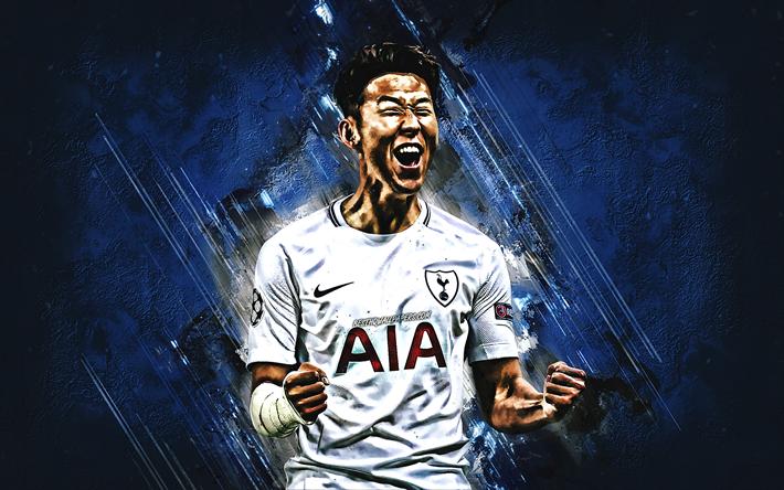 Download Wallpapers Son Heung-min, Tottenham Hotspur FC