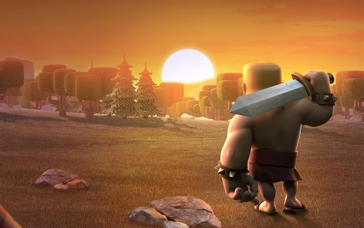 Clash of Clans, 2016 games, Barbarians