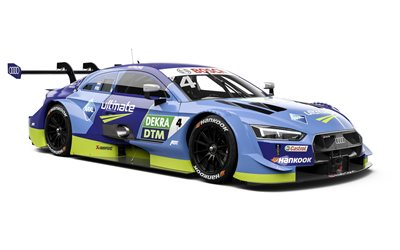 2020, Audi RS 5 DTM, racing car, RS5 tuning, sports coupe, Audi Sport Team Abt Sportsline, DTM, Robin Frijns, Audi