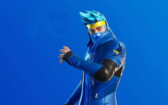 Download Wallpapers Ninja 2020 Games Fortnite Battle Royale Ninja Skin Fortnite Ninja Fortnite For Desktop Free Pictures For Desktop Free