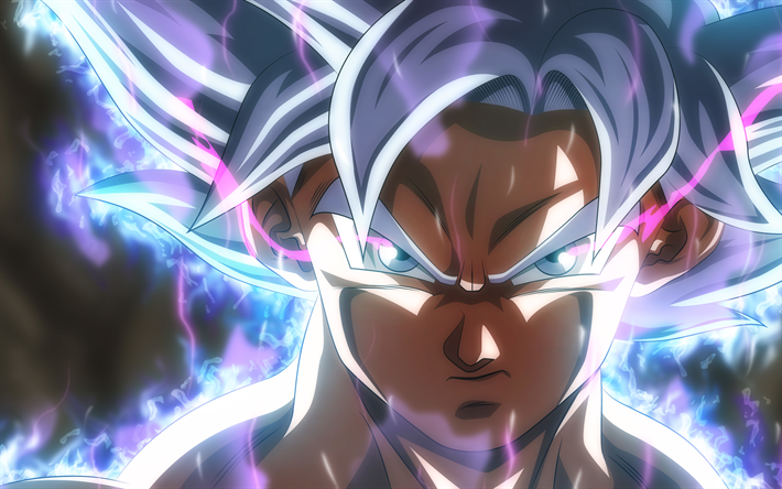 Download Wallpapers Ultra Instinct Goku 4k Son Goku Fire Dragon
