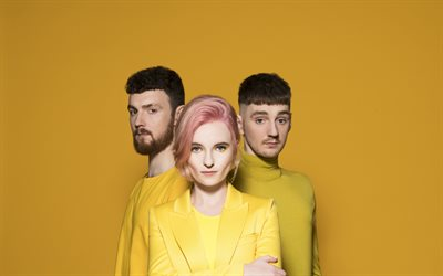 4k, Clean Bandit, brittiläinen bändi, supertähtiä, Grace Chatto, Milan Neil Amin-Smith, Luke Patterson