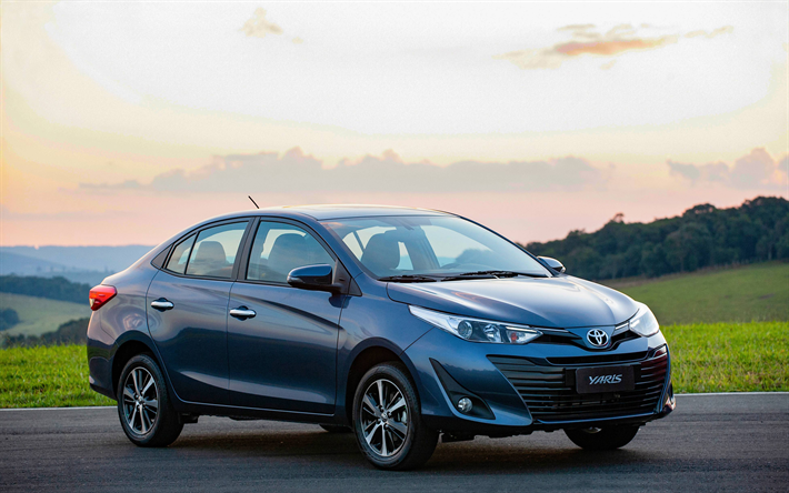 TOYOTA Thumb2-toyota-yaris-sedan-4k-2019-cars-road-new-yaris