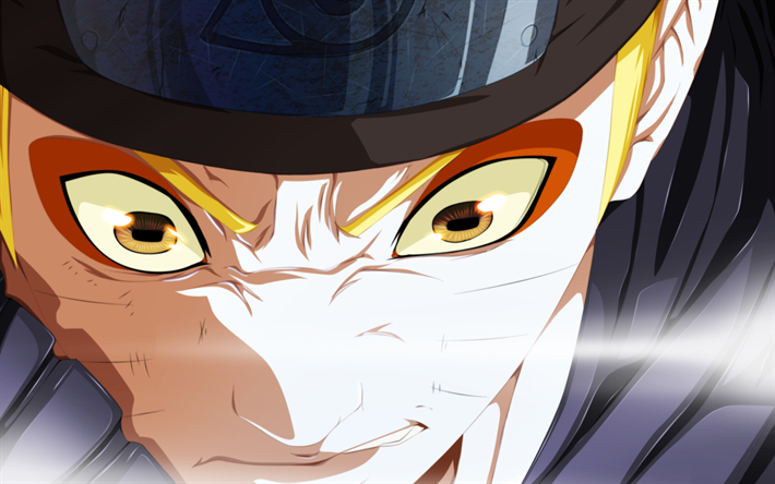 Télécharger Fonds Décran Naruto Uzumaki Close Up De