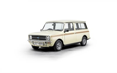Mini Clubman, 1969, ulkoa, retro autot, farmari, British retro autoja, Mini