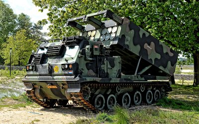 M270 MLRS, Multiple rocket launcher, AGM-137 TSSAM, Multiple Launch Rocket System, Royal Netherlands Army