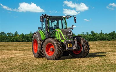 Fendt 516 Vario PowerPlus, HDR, 2020 tractors, plowing field, agricultural machinery, tractor in the field, agriculture, Fendt
