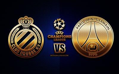 Skachat Oboi Club Brugge Vs Psg Group A Uefa Champions League Season 2019 2020 Golden Logo Paris Saint Germain Club Brugge Fc Uefa Club Brugge Fc Vs Psg Fc Dlya Rabochego Stola Besplatno Kartinki