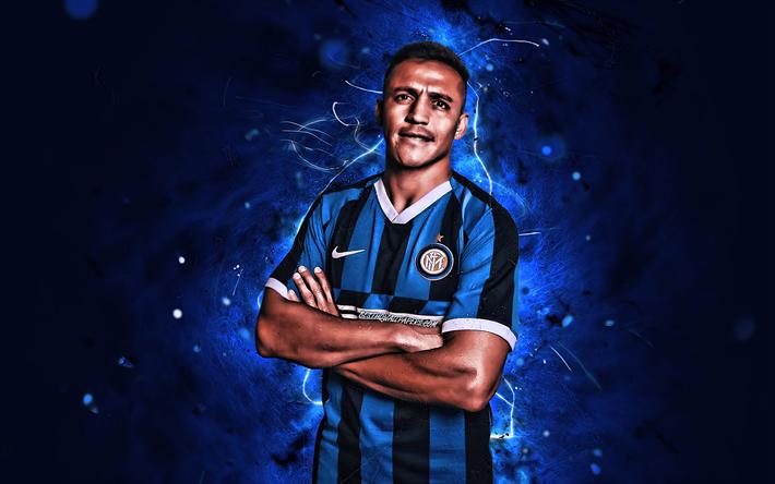 Download Wallpapers Alexis Sanchez 2019 Internazionale