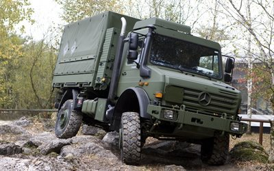 Mercedes u5000, unimog, German military truck, all-terrain vehicle