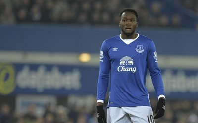 Romelu Lukaku, Football, Everton FC, England, Premier League
