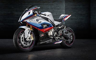 BMW S1000 RR, 2017, Safety Bike, sport bike, MotoGP, BMW