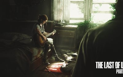 Ellie, 4K, adventure, 2017 games, The Last of Us Part II