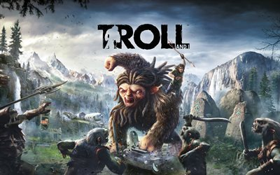 Trolls And I, adventure, 4k, 2017 games