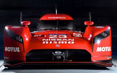 Nissan GT-R LM Nismo, 2017 cars, 4k, racing cars, Nissan