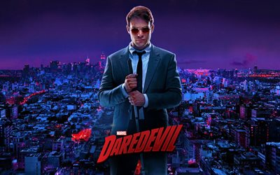 Matt Murdock, Daredevil, 2019 movie, poster, Charlie Cox