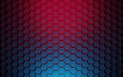 hexagons 3d texture, polygons texture, hexagons metal background, purple blue hexagons background, creative hexagons background, hexagons texture, polygons background