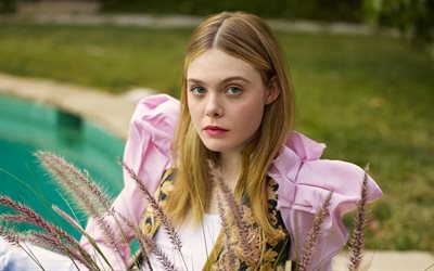 Elle Fanning, 2017, Elle, american actress, Hollywood, beauty