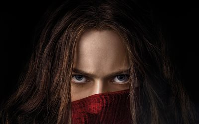 4k, Mortal Engines, poster, Hester Shaw, 2018 movie, Hera Hilmar
