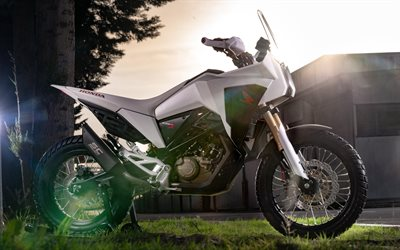 Honda CB125X, 4k, side view, 2019 bikes, superbikes, 2019 Honda CB125X, japanese motrcycles, Honda