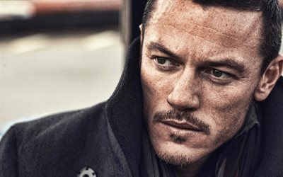 Luke Evans, portrait, welsh actor, photoshoot, British actor, popular actors