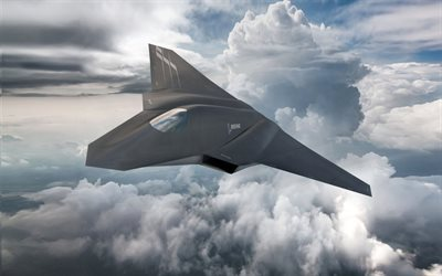 Boeing, Future aircraft, aircraft concepts, Next Gen Fighter, Concept