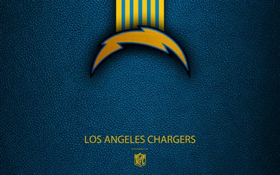Download Wallpapers Los Angeles Chargers 4k American